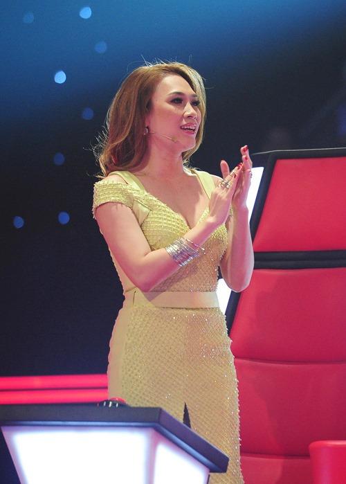Mỹ Tâm không hề thua kém Hà Hồ trên ghế nóng The Voice-1