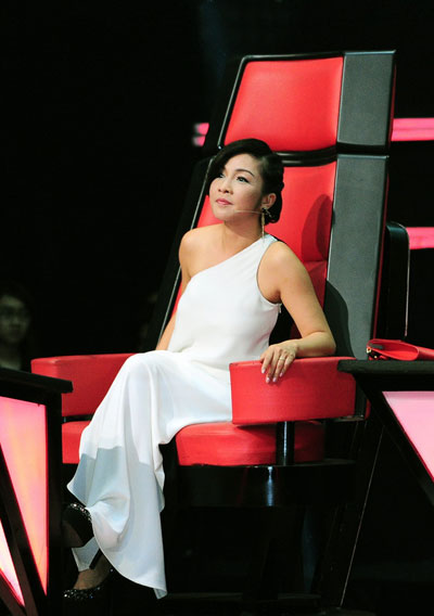 Mỹ Tâm không hề thua kém Hà Hồ trên ghế nóng The Voice-12
