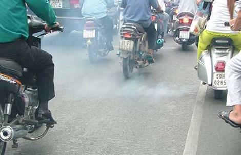 Đề xuất thí điểm kiểm soát khói xe máy ở 5 thành phố lớn-1