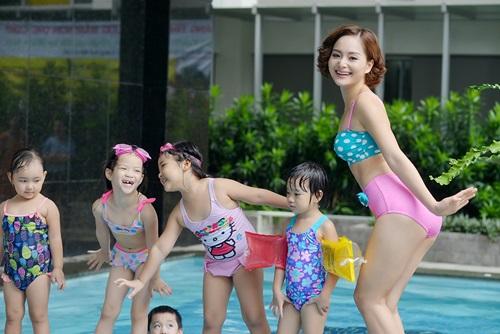 lan phuong khoe ve ngot ngao tai ho boi - 2