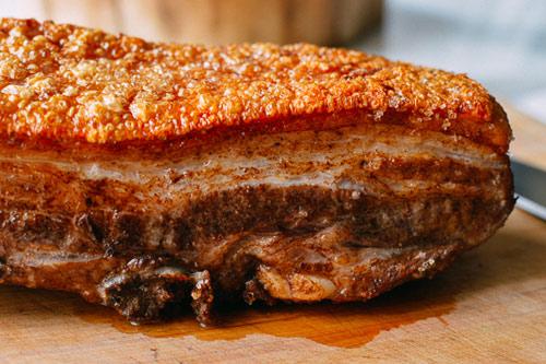 Thịt heo quay bì giòn thơm ngon đã miệng - 6