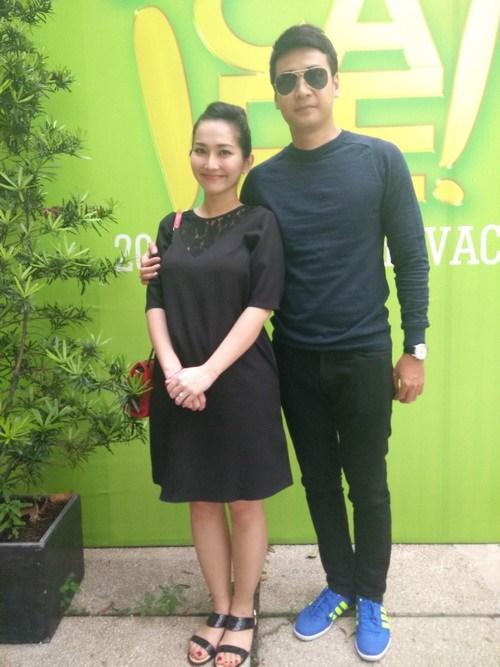 Kim Hiền khoe bụng bầu 6 tháng thon gọn-6