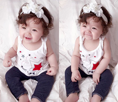 """Thời trang mùa hè """"bé nào cũng thèm"""" của con gái Elly Trần-9"""