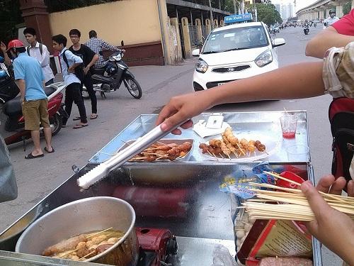 Thức ăn đường phố không chứa chất gây nghiện - 1