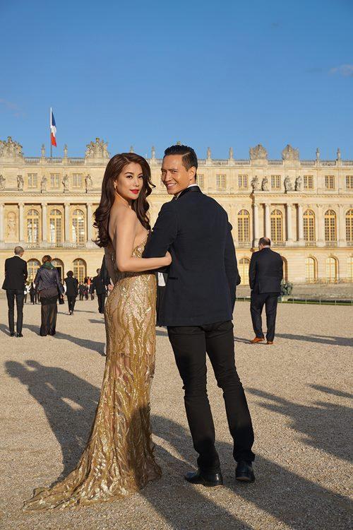 Trương Ngọc Ánh quấn quýt bên Kim Lý tại Pháp-2