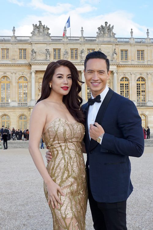 Trương Ngọc Ánh quấn quýt bên Kim Lý tại Pháp-3