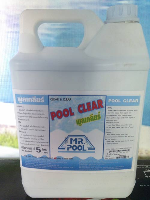 Kinh hãi sulfat đồng 'nhuộm' xanh nước bể bơi - 2
