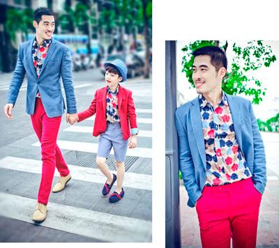 chon do sanh dieu cho chong va con trai di choi he - 1