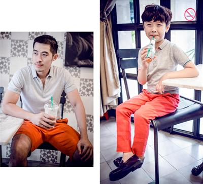 chon do sanh dieu cho chong va con trai di choi he - 11