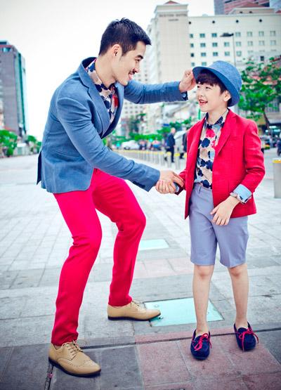 chon do sanh dieu cho chong va con trai di choi he - 2