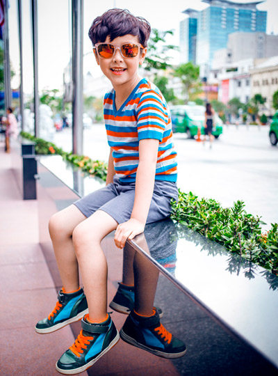 chon do sanh dieu cho chong va con trai di choi he - 5