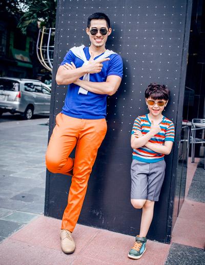 chon do sanh dieu cho chong va con trai di choi he - 6