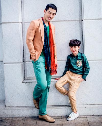 chon do sanh dieu cho chong va con trai di choi he - 9