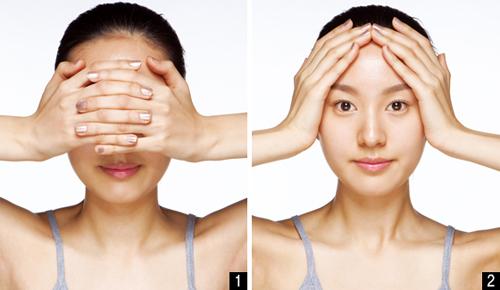 """cai lao"" da mat bang cach massage kieu han - 1"