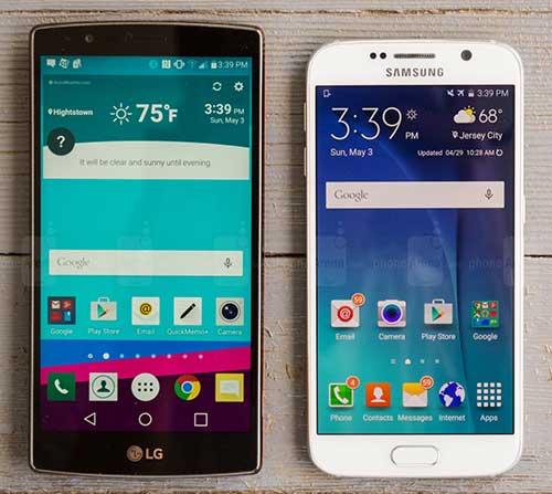5 lý do mua LG G4 thay vì Samsung Galaxy S6-3