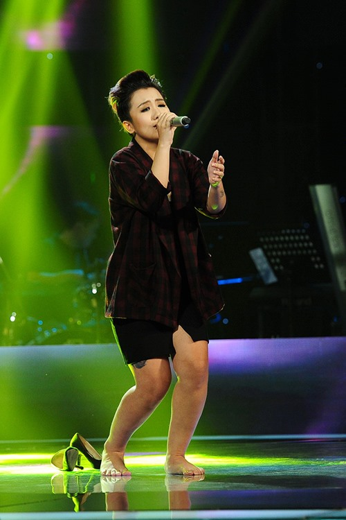 """the voice 2015: my tam bi """"boc me"""" khi dang hua hen du dieu - 10"""
