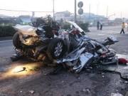 Tin tức - Tai nạn kinh hoàng: Xe đầu kéo nghiền nát ô tô làm 5 người chết