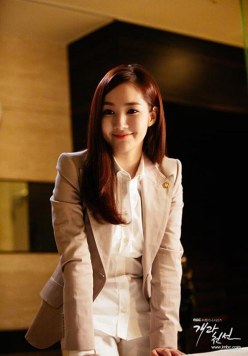 "park min young vuong ""tinh tay ba"" trong phim moi - 1"