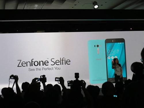 Asus ra mắt smartphone chụp tự sướng ZenFone Selfie-5