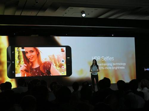 Asus ra mắt smartphone chụp tự sướng ZenFone Selfie-10