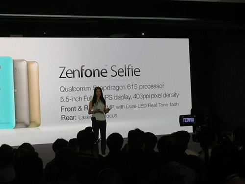 Asus ra mắt smartphone chụp tự sướng ZenFone Selfie-14
