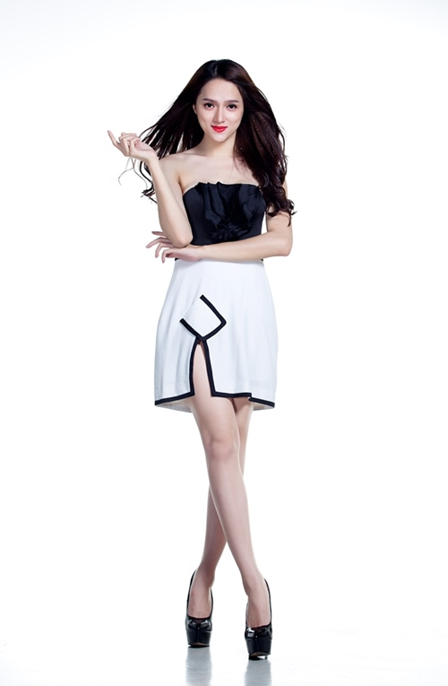 huong giang idol khoe ve dep ngay cang nu tinh - 4