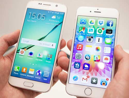 "them bang chung galaxy s6 ""that the"" truoc iphone 6 - 1"