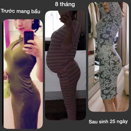 Một tháng ở cữ, mẹ dùng hết 50kg gừng để giảm eo-1