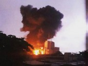 Tin quốc tế - Ghana: Trạm xăng nổ như bom, 96 người chết thảm
