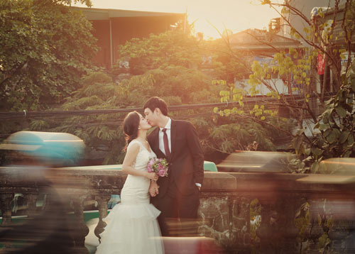 Ảnh cưới giữa phố phường của cặp đôi yêu nhau 10 năm-2
