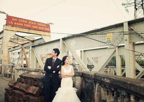 Ảnh cưới giữa phố phường của cặp đôi yêu nhau 10 năm-4