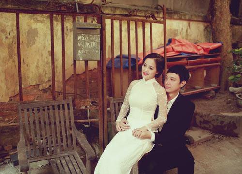Ảnh cưới giữa phố phường của cặp đôi yêu nhau 10 năm-13
