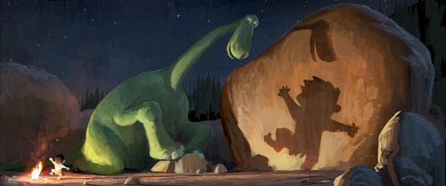 "pixar tung phim moi mang ten ""chu khung long tot bung"" - 3"