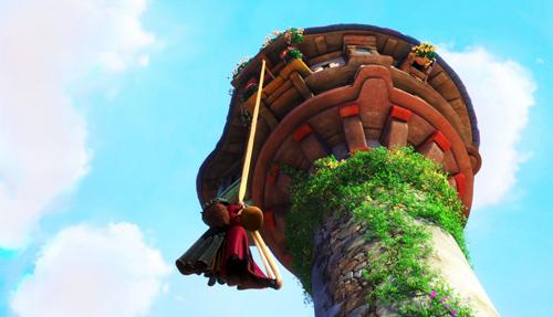 truyen co tich: rapunzel - nang cong chua toc may - 2