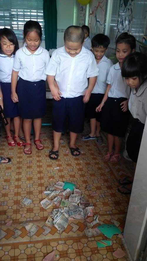 Cô giáo kêu gọi ủng hộ đồ dùng cho học sinh nghèo-4