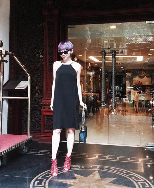 Tóc Tiên ngày càng chuộng thời trang giá rẻ - 12