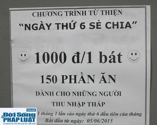 cam dong quan bun bo 1.000 dong danh cho nguoi ngheo giua ha noi - 3