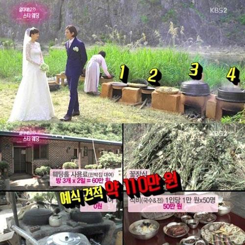 dam cuoi won bin - lee na young chi ton hon 20 trieu dong - 3