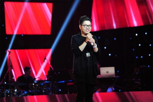 "the voice: co gai ""vua an keo vua hat"" ve doi mr. dam - 3"