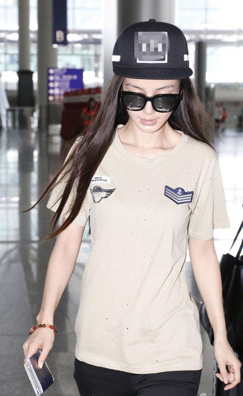 "angela baby de lo nhan kim cuong ""khung"" - 2"
