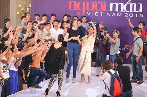 """vntm 2015: nhung bieu cam """"kho do"""" cua giam khao thanh hang - 1"""