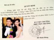 Làng sao sony - Bản án tuyên MC Quỳnh Chi được ly hôn đã bị kháng nghị
