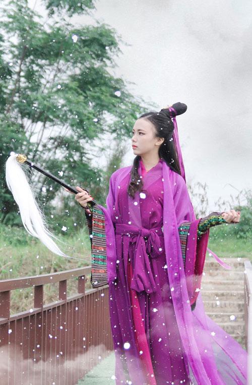 nu sinh bao chi nhan 'bao like' vi giong het hoa hau ky duyen - 11