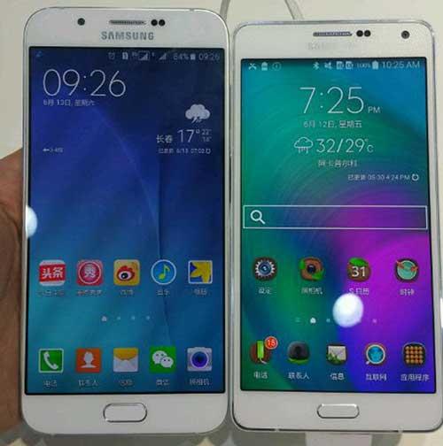 smartphone kim loai, thiet ke sieu mong cua samsung lo anh - 1