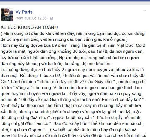 su that co gai bi nguoi la nhan la chong, khong che tren xe bus - 1