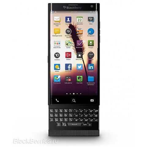 smartphone blackberry chay android ra mat thang 11/2015? - 1