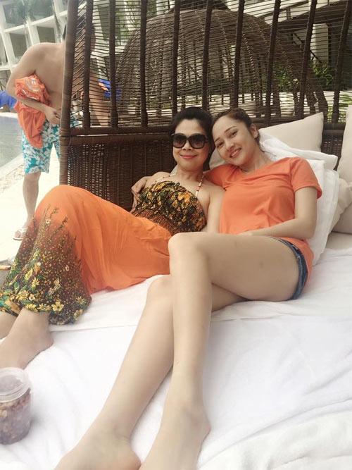 """quynh thu len tieng truoc nghi van """"ke thu ba"""" - 5"""