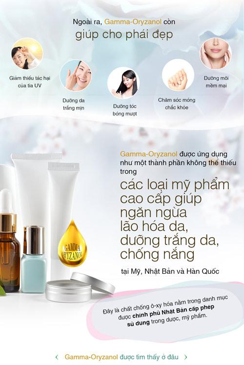 gamma-oryzanol – duong chat vang cho phai dep - 3
