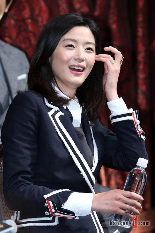 "ngam lan da trang min cua ""minh tinh trai dat"" jeon ji hyun - 5"