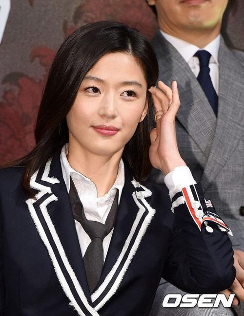 "ngam lan da trang min cua ""minh tinh trai dat"" jeon ji hyun - 3"